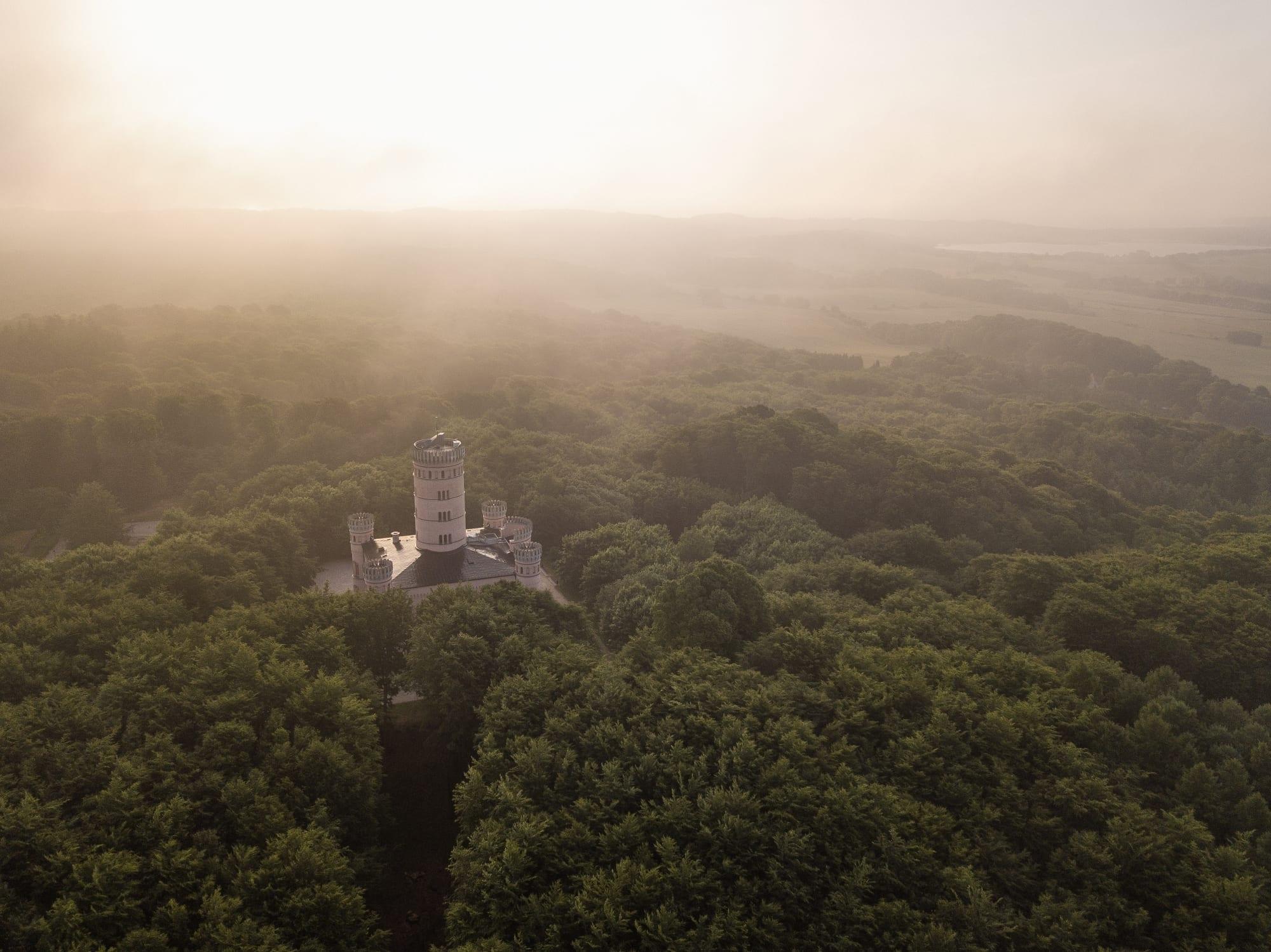 Das fürstliche Schloss auf dem Tempelberg
